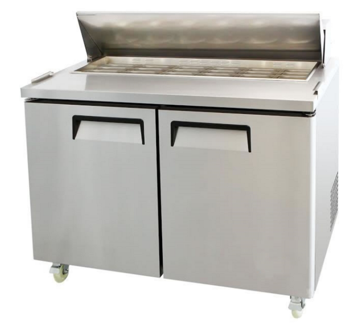 Mesa Fria Sandwich Prep Refrigerated Table